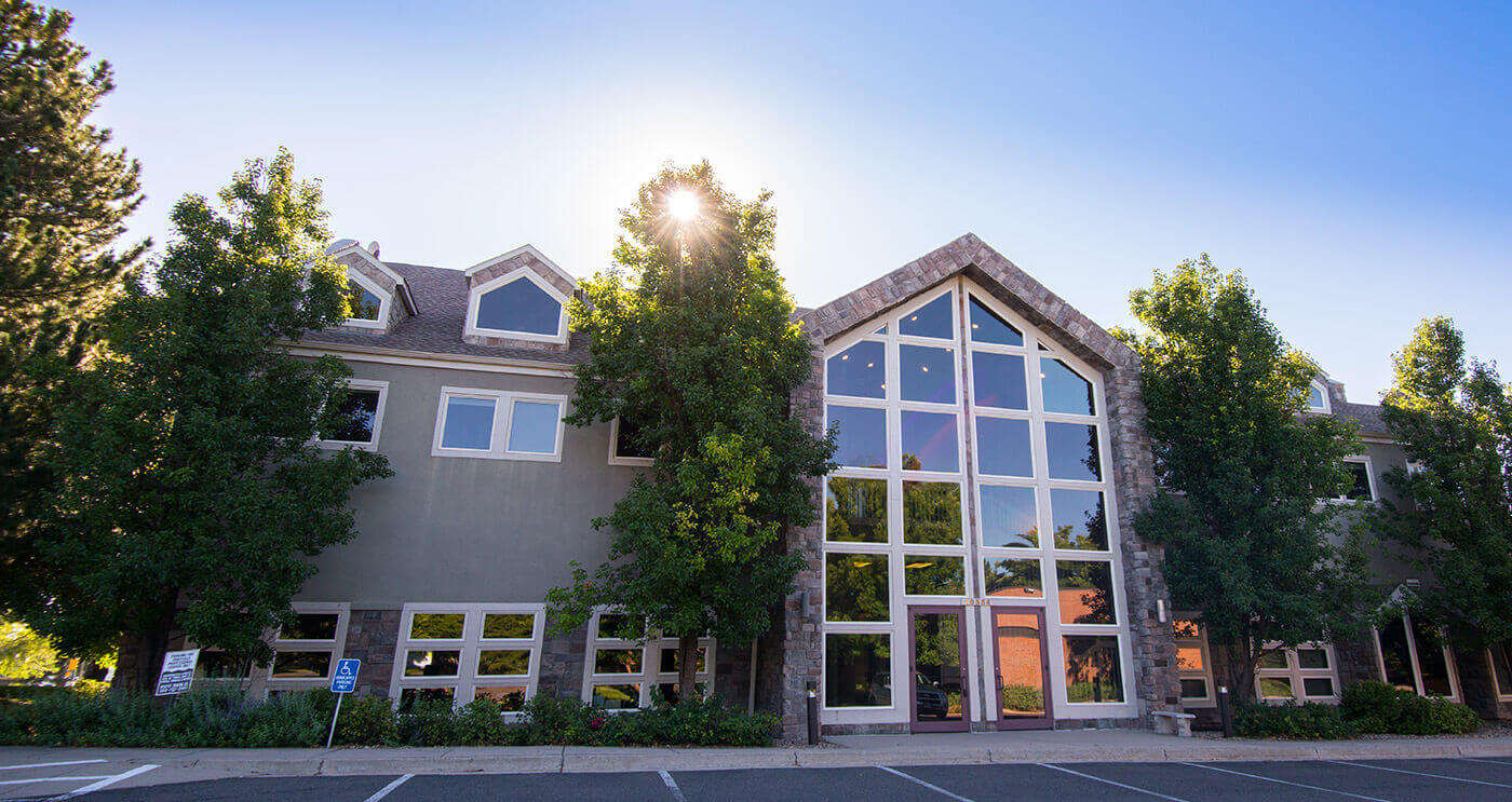 Outside view of Blue Sage Dental in Littleton, CO